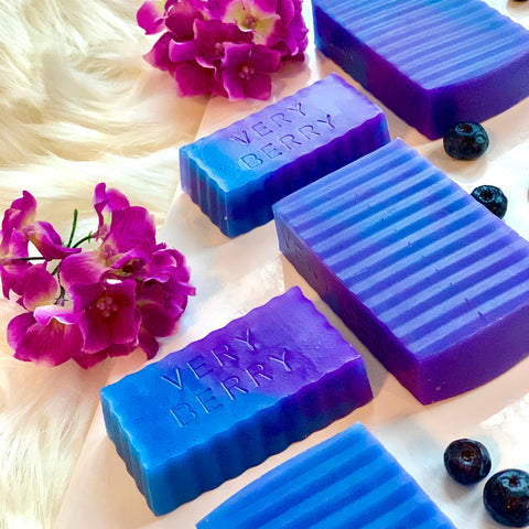 Very Berry Breast Milk Soap Bar