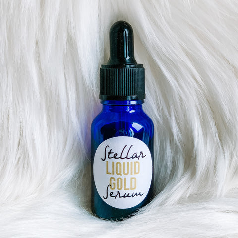 Stellar Facial Serum: Liquid Gold