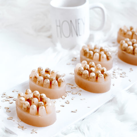 Honey Oatmeal Almond Breast Milk Soap Bar
