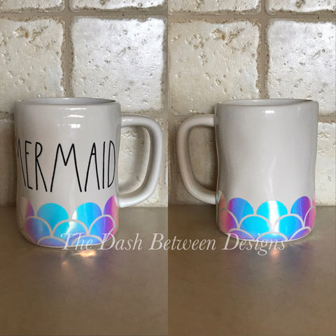 Rae Dunn Mermaid Scales for Mermaid Mugs
