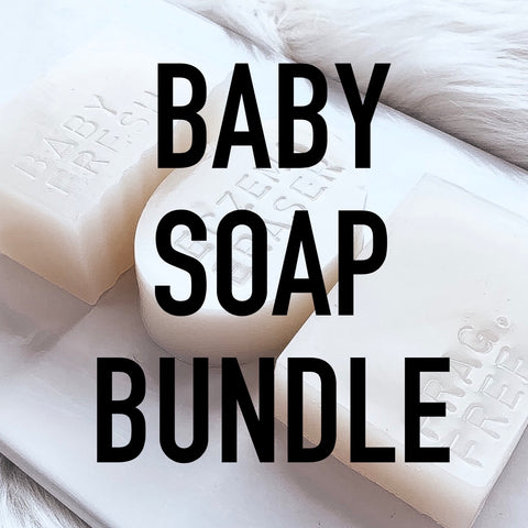 The Baby Bundle: Breast Milk Soap Bar Set