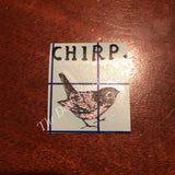 Rae Dunn Inspired Vintage CHIRP Decal