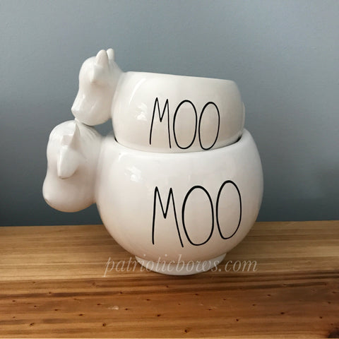 Rae Dunn Inspired MOO Decal