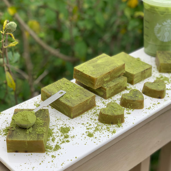Matcha Green Tea Breast Milk Soap Bar