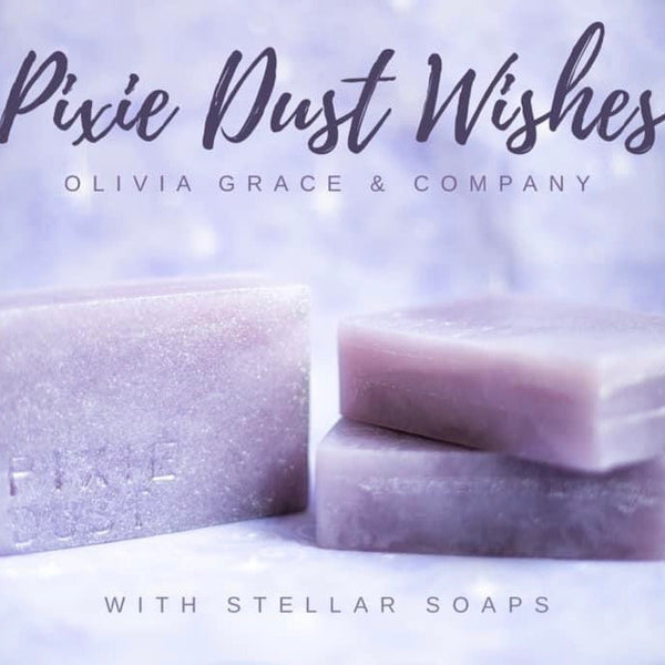 Pixie Dust (vanilla & jasmine) Breast Milk Soap Bar