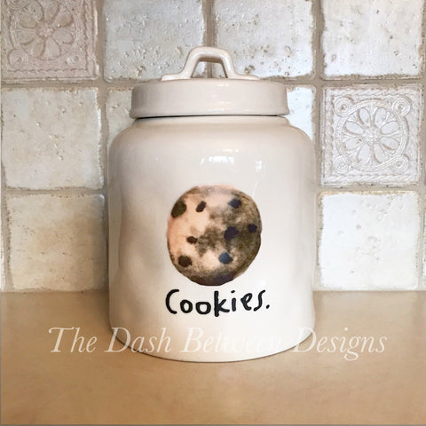 Rae Dunn Inspired Boutique COOKIES Decal