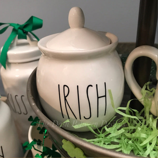 Rae Dunn Inspired IRISH Decal