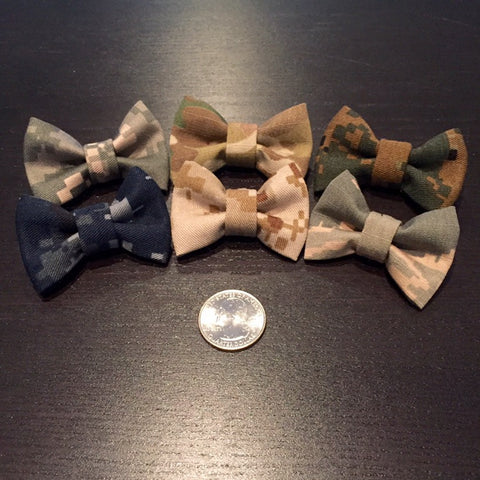Plain Mini Camo Bow (all branches)