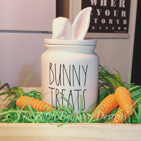 Rae Dunn Inspired BUNNY TREATS Decal