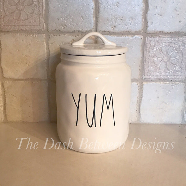 Rae Dunn Inspired YUM Decal