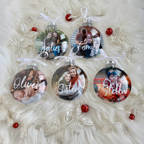 Personalized Photo Ornament