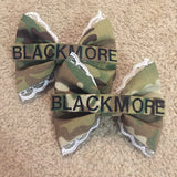 Army Lace Multicam OCP Nametape Bow
