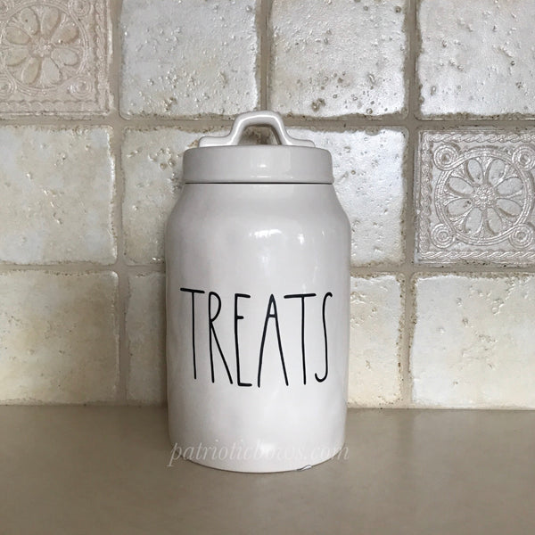 Rae Dunn Inspired TREATS Decal