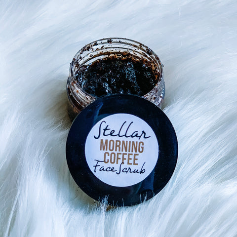 Stellar Face Scrub: Morning Coffee (coffee & olive oil)