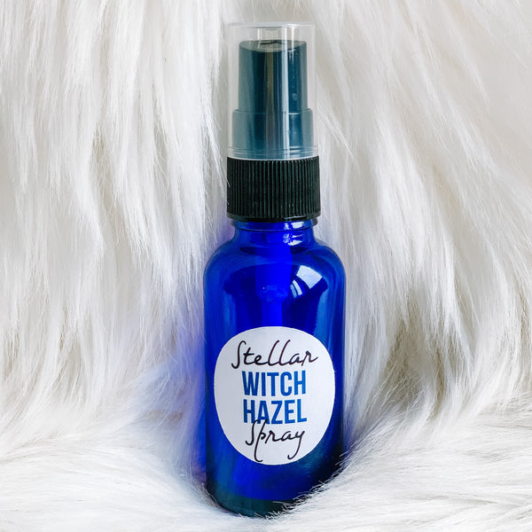 Stellar Facial Toner: Witch Hazel Spray