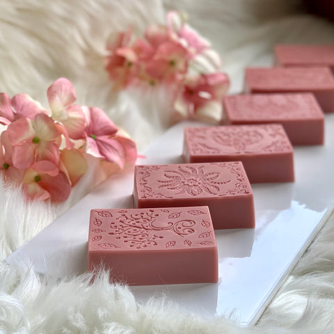 The Rose Facial (great for acne) Breast Milk Soap Bar
