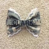 Army Lace ACU (old Army uniform) Nametape Bow