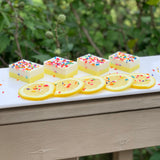Confetti Lemon Cake Breast Milk Soap Bar