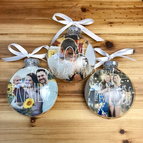 Personalized Rae Dunn Inspired Christmas Ornament