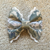 Air Force Deluxe Lace ABU Bow