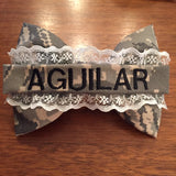 Lace Nametape Bow Style 2 (all branches)