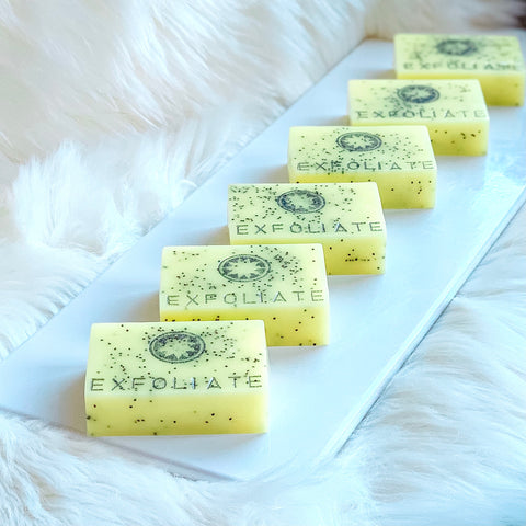 EXFOLIATE (lemonade) Breast Milk Soap Bar