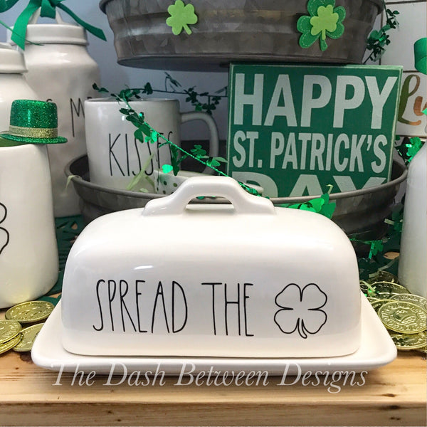 Rae Dunn Inspired SPREAD THE LUCK Decal