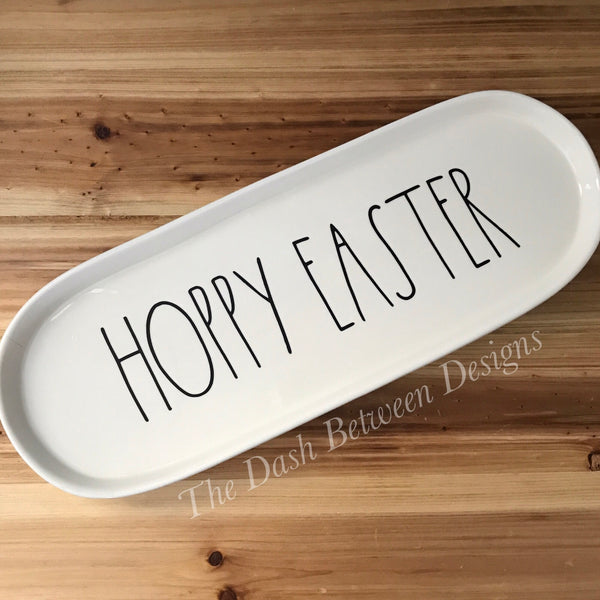 Rae Dunn Inspired HOPPY EASTER Decal