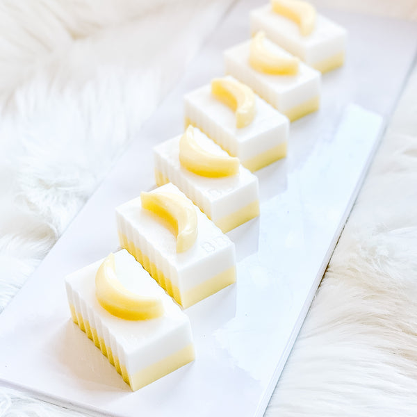 Bren-nana Boat (coconut, banana, pineapple) Breast Milk Soap Bar