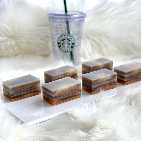 Caramel Macciato Breast Milk Soap Bar