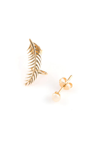 The Palm & The Pearl Earrings