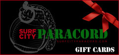 Surf City Paracord Gift Cards