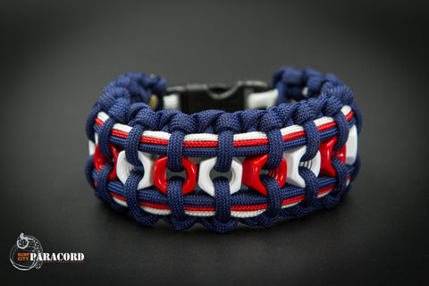 Hex Nut Paracord Bracelet (Freedom)