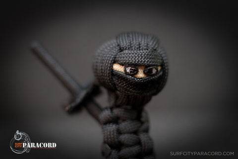 Paracord Male Ninja (Black)