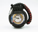 Bug Out Frag Pro Paracord Survival Kit (Red Hawk)