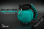 Bug Out Frag Pro Compact Survival Kit (Sea Breeze / Black)