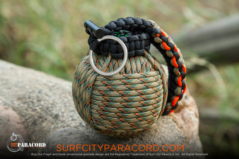 Bug Out Frag® Pro Paracord Survival Kit (Tree Stand Camo)