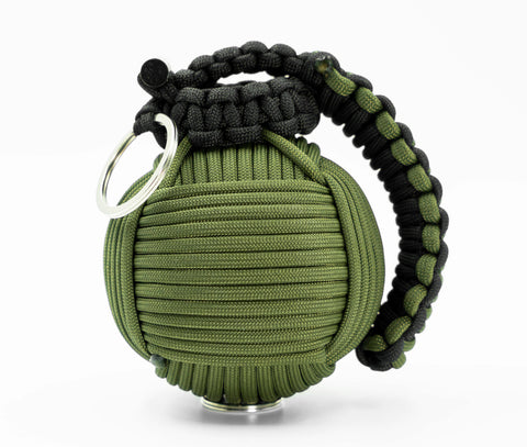 Bug Out Frag Pro Paracord Survival Kit (Olive Drab and Black)