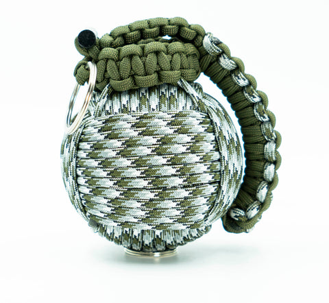 Bug Out Frag Pro Paracord Survival Kit (Siberian Camo and Olive Drab)