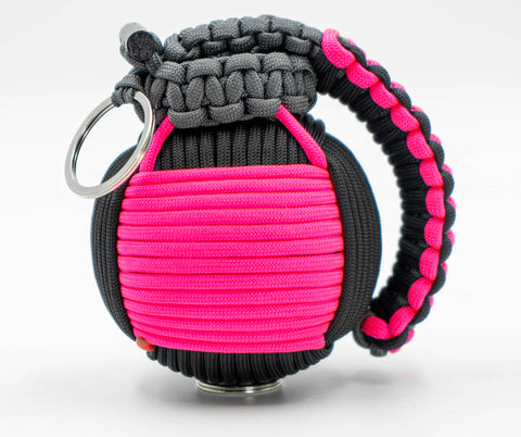 Bug Out Frag Pro Duo Paracord Survival Kit (Hot Pink / Black)