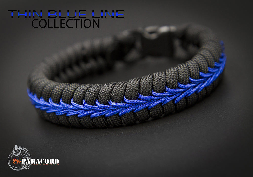 line wholesale multi bracelet paracord thin be steel blue detail tool products product brave