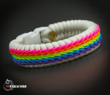 Unicorn Stitched Fishtail Paracord Bracelet