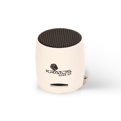 Kratos Bluetooth Nano Speaker (White)