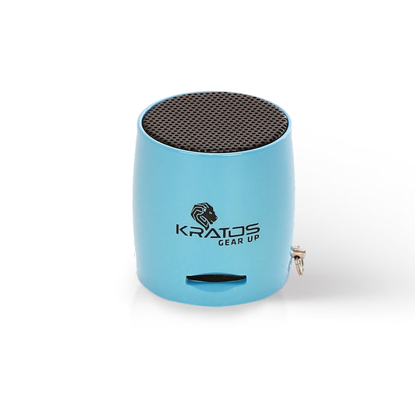 Kratos Bluetooth Nano Speaker (Blue)