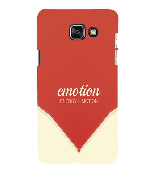 EPICCASE Energy in motion Back Case Cover for Samsung A5 2016