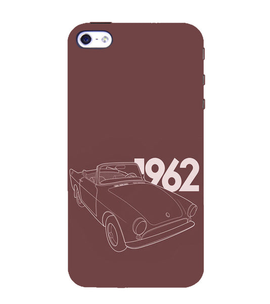 EPICCASE Vintage car 1962 Back Case Cover for Apple iPhone 5/5s