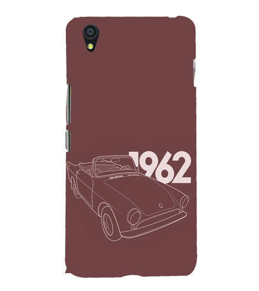 EPICCASE Vintage car 1962 Back Case Cover for Oneplus X