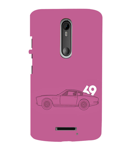EPICCASE Vintage car 1969 Back Case Cover for Moto X3
