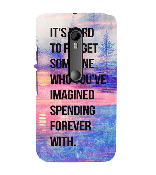 EPICCASE Sadness phases of life Back Case Cover for Moto X Style