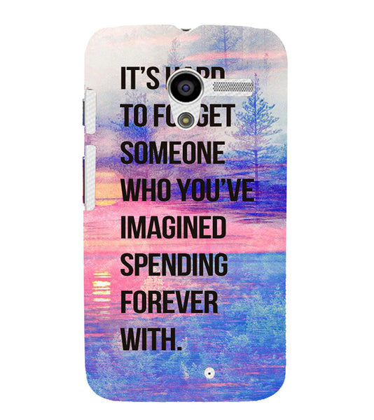 EPICCASE Sadness phases of life Back Case Cover for Moto X